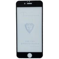 защитное стекло Full Glue iPhone 6 black тех упаковка