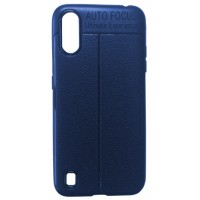 Силикон Auto Focus кожа Samsung A01 (A015) blue