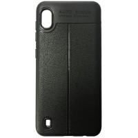 Силикон Auto Focus кожа Samsung A10 (A105) black