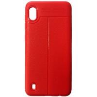Силикон Auto Focus кожа Samsung A10 (A105) red