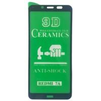 Защитное стекло CERAMIC Xiaomi redmi 7A Black Retail Box