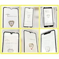 защитное стекло Full Glue Xiaomi Redmi Note 8 Pro black тех упаковка