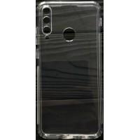 Силикон 0.5mm с заглушками+защита камеры Huawei Y7P/P40 Lite e Clear