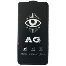защитное стекло AG for Huawei P40 Lite e / Y7p matte black тех упак.