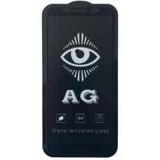 защитное стекло AG for Huawei Y5P 2020 matte black тех упак.