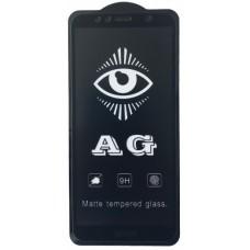 защитное стекло AG for Huawei Y6 2018 matte black тех упак.