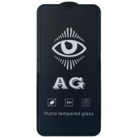 защитное стекло AG for Xiaomi Redmi 9 matte black тех упак.