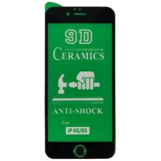 Защитное стекло CERAMIC iPhone 6/6S Black тех упаковка