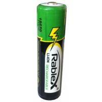 Аккумулятор Rablex 18650 Li-lon 2800 mAh защита (1/40/400)