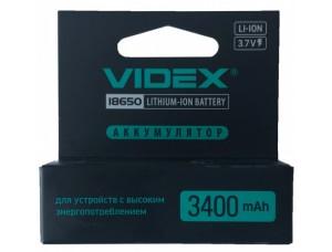 Аккумулятор 18650 Videx 3400mAh (1/20) защита блистер