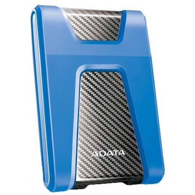Внешний жесткий диск 2.5'' ADATA USB 3.2 Gen. 1 DashDrive Durable HD650 1TB Blue