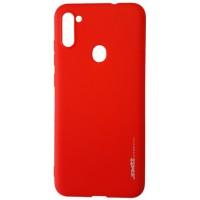 Силикон Smitt Samsung A11 (A115) red