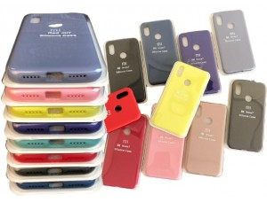 Silicone Case Full for Samsung A01 (A015) Black