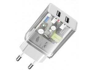 СЗУ Baseus Speed Mini Dual U Charger 10.5W White