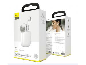 Наушники Baseus Encok True Wireless Earphones W04 White