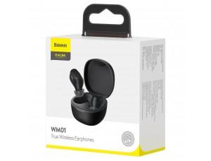 Наушники Baseus Encok True Wireless Earphones WM01 Black