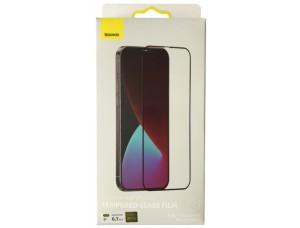 Baseus (SGAPIPH61P-KM01) 0.25mm Full-screen Frosted for iP 12 Pro (6.1'') 2020 (2шт/упак) Black