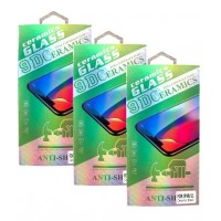 Защитное стекло CERAMIC Samsung A01 (A015) Black Retail Box
