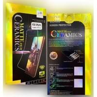Защитное стекло Ceramic MATTE Xiaomi Mi 10 Lite Black Retail Box