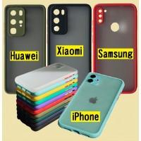 Накладка Gingle Matte Case Xiaomi Redmi K30 black/red
