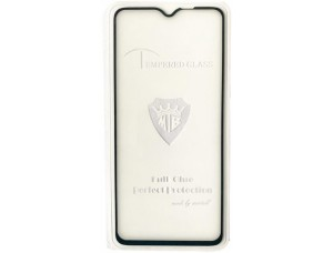 защитное стекло Full Glue Vivo Y19 black тех упаковка