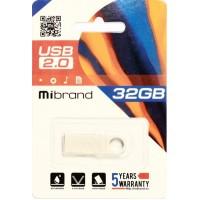 USB 2.0 Mibrand Puma 32Gb Silver