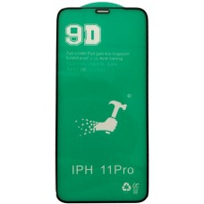 Защитное стекло CERAMIC iPhone X/XS/11 Pro Black тех упаковка