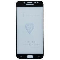 защитное стекло Full Glue Samsung J530 black тех упаковка