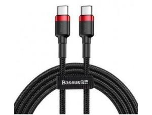 PD кабель Baseus Cafule Series Type-C PD2.0/60W/3A/1m. Red-black