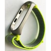 Ремешок Xiaomi Mi Band 3/4 Nylon NEW Sport Lime