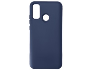 GRAND Full Silicone Cover for Huawei P Smart 2020 navy blue
