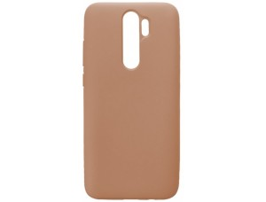 GRAND Full Silicone Cover for Samsung A20s (A207) pink sand
