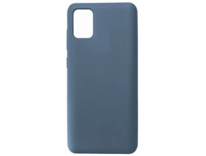 GRAND Full Silicone Cover for Samsung A41 (A415) lavander