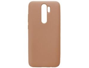 GRAND Full Silicone Cover for Xiaomi Redmi 8 pink sand