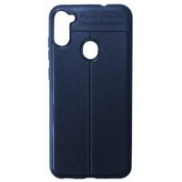 Силикон Auto Focus кожа Samsung A11 (A115) blue