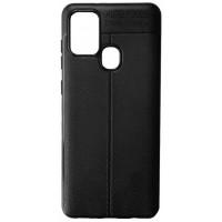 Силикон Auto Focus кожа Samsung A21s (A217) black