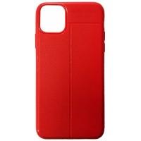 Силикон Auto Focus кожа iPhone 11 Pro red