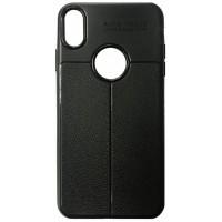 Силикон Auto Focus кожа iPhone XR black