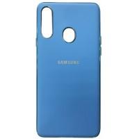 Накладка MATTE Case (TPU) Samsung A20s (A207) blue