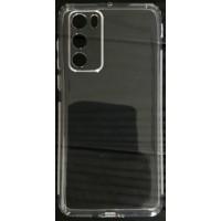 Силикон 0.5mm с заглушками+защита камеры Huawei P40 Clear