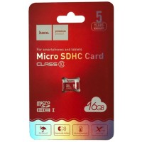 Карта памяти microSDHC HOCO 16 Gb TF high speed Class 10