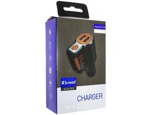 FM-Модулятор Bluetooth KCB-905 Orange