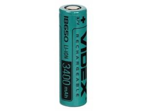 Аккумулятор 18650 Videx 3400mAh (1/50/600)