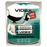 Аккумулятор VIDEX R03 800mAh (предзаряд) BLI 2 цена за 2 шт.