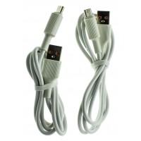 Кабель USB WUW X118 micro 2,4A (2 кабеля в упаковке)Цена за 2 шт.