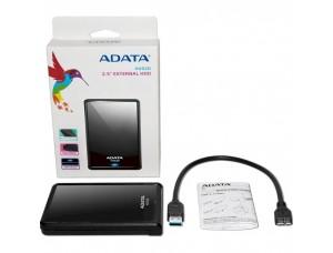 Внешний жесткий диск 2.5'' ADATA USB 3.1 DashDrive Classic HV620S 5TB Slim Black