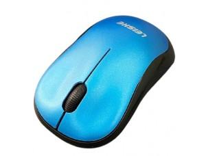 Мышь/mous Беспроводная оптическая мышь LEISHE Blue
