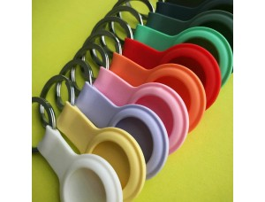 Брелок Silicone FULL Key Ring for AirTag Green