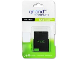 АКБ GRAND Premium Nokia BL-4U