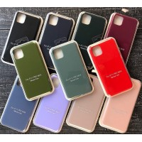 GRAND Full Silicone Case for iPhone 11 (52) marsala